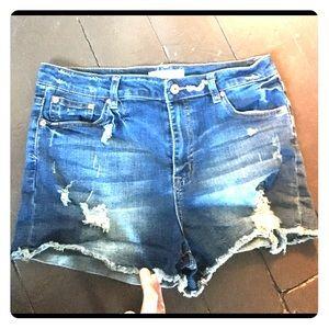 Ardene l Eighty Two Blue Jean Shorts